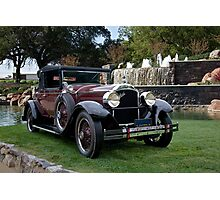 1928 Packard 526 Convertible Coupe I Photographic Print