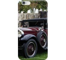 1928 Packard 526 Convertible Coupe II iPhone Case/Skin