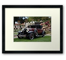 1928 Packard 526 Convertible Coupe II Framed Print
