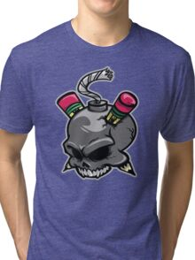 Create or Destroy Logo Tri-blend T-Shirt