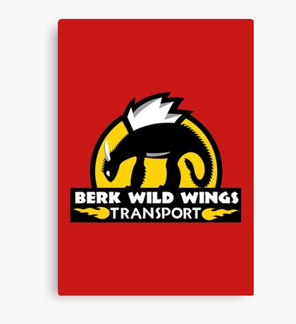 Berk Wild Wings Transport Canvas Print