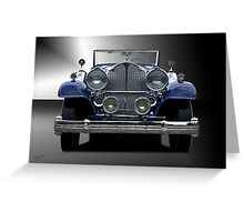 1932 Packard Victoria Convertible I Greeting Card