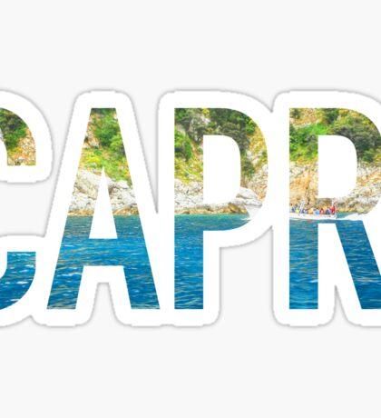 Capri, Italy Sticker
