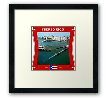 Puerto Rico - The Rich Port Framed Print