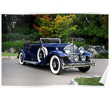 1932 Packard Victoria Convertible II Poster
