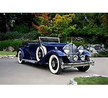 1932 Packard Victoria Convertible II Photographic Print