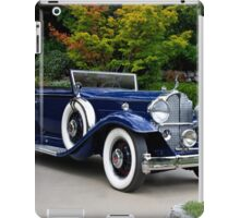 1932 Packard Victoria Convertible II iPad Case/Skin