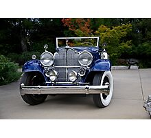 1932 Packard Victoria Convertible III Photographic Print