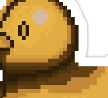 The Best Ducky Pixel  Sticker