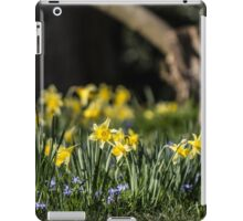 Pretty Daffodil Landscape iPad Case/Skin