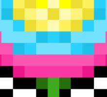 Flower Power - Pixels Sticker