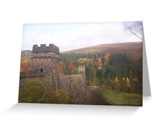 'Dambusters' Derwent reservoir cards Greeting Card