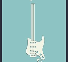Guitar Art - Stratocaster by PPWGD