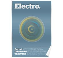 Electro Poster