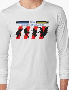 Select your Kaiju (Silhouettes) Long Sleeve T-Shirt