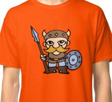 viking cartoon warrior Classic T-Shirt