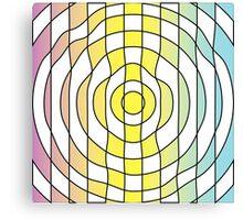 Vibrant Target Canvas Print