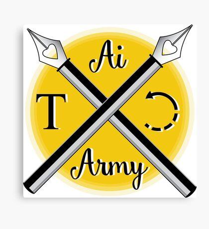 Illustrator Army Canvas Print