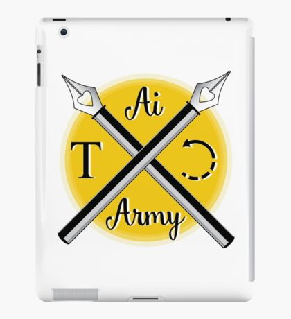 Illustrator Army iPad Case/Skin