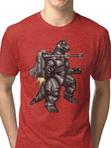 Super Mechagodzilla Tri-blend T-Shirt