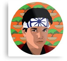 The Karate Kid Metal Print