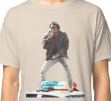Kendrick Lamar Standing on Cop Car Classic T-Shirt