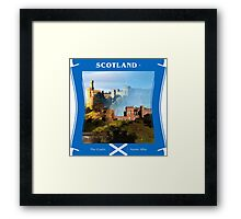 Scotland - The Gaelic Name Alba Framed Print