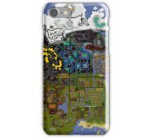 OldSchool Runescape Zeah map iPhone Case/Skin