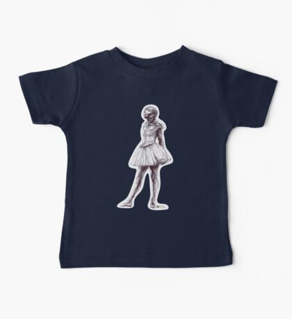 Little Dancer Ballpoint Pen Drawing Baby Tee