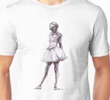 Little Dancer Ballpoint Pen Drawing Unisex T-Shirt