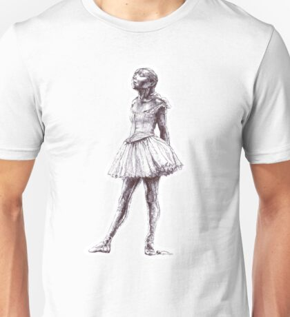 Little Dancer Ballpoint Pen Drawing Unisex T-Shirt