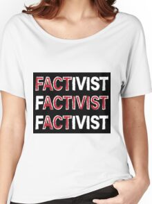 Campaign against Fake News Women's Relaxed Fit T-Shirt