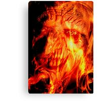 Retrato del Diablo Canvas Print