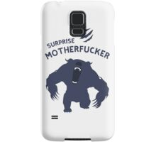 Surprise Motherfucker ! Here comes URSA ! Samsung Galaxy Case/Skin