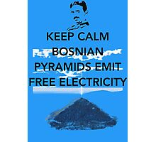 Keep Calm Free Pyramid Energy Photographic Print