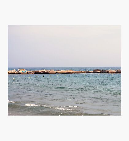 Breakwater Photographic Print