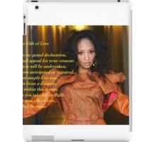 The Gift of Love iPad Case/Skin