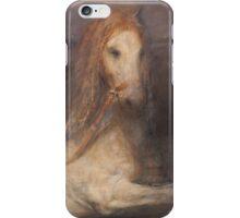 Horse bath iPhone Case/Skin