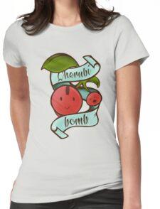 Cherubi Bomb Womens Fitted T-Shirt