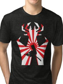 Jack on The Attack in Black Tri-blend T-Shirt