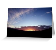 Death Valley Sunrise Greeting Card