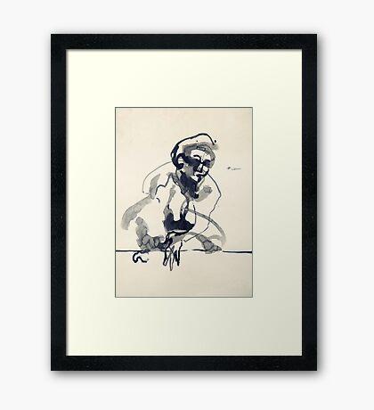 Ink I Framed Print