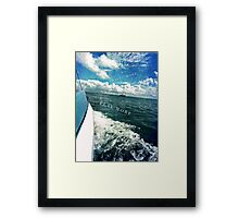 travel more play more Framed Print