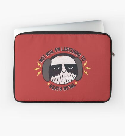 I'M HAVING A LITTLE ME TIME Laptop Sleeve