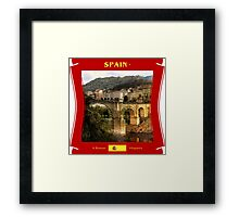 Spain - A Roman Hispania Framed Print