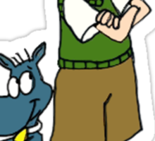 Doug & Porkchop Sticker
