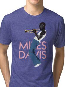 Miles Davis Tri-blend T-Shirt