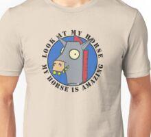 Amazing horse Unisex T-Shirt