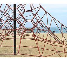 Barcelona Beach Playground Photographic Print