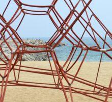 Barcelona Beach Playground Sticker